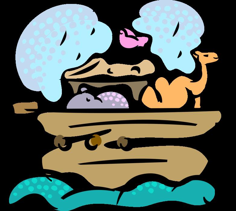 S ark biblical story. Flood clipart flood noah