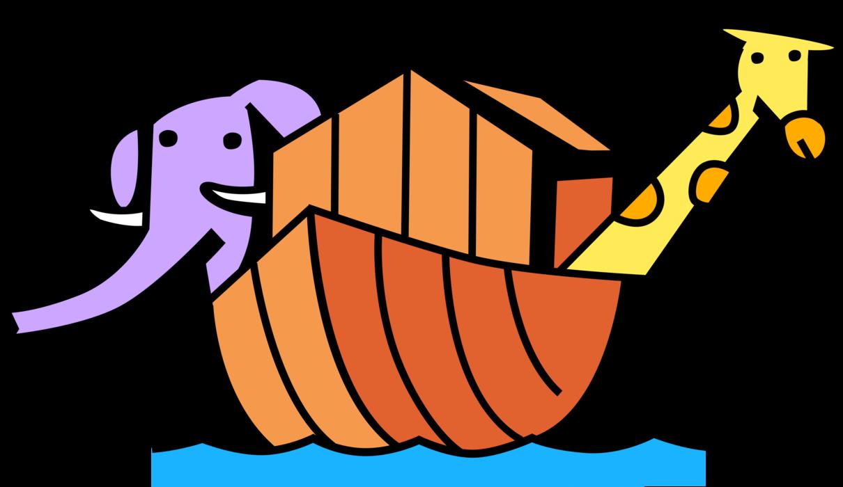 Flood clipart flood noah. S ark biblical story