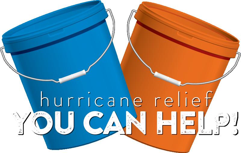 Hurricane harvey buckets nhunited. Flood clipart flood relief