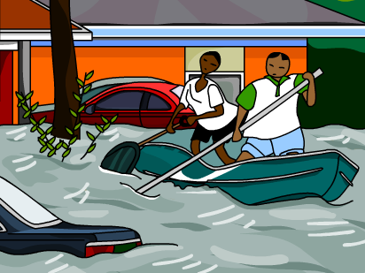 Free floods cliparts download. Flood clipart flooded area