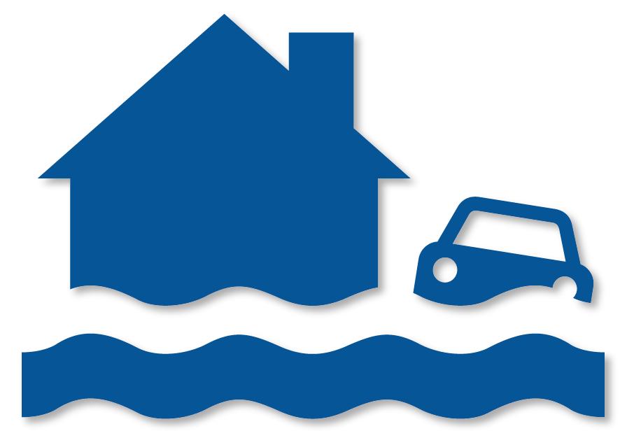 Flood clipart flooded area. Floods taranaki civil defence