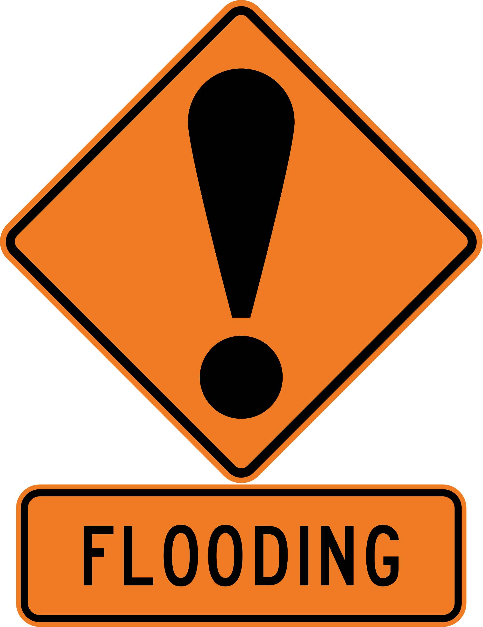 Flood clipart flooded street. Storms cause closures throughout