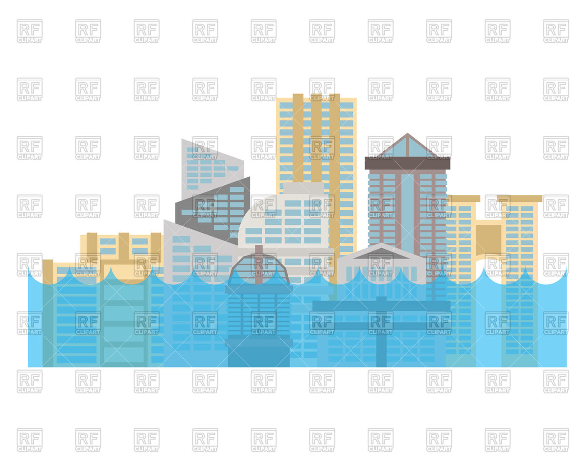 The best free images. Flood clipart flooding