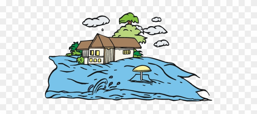 Floods cliparts making the. Flood clipart flooding