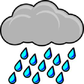 Thunderstorm clipart rainstorm. Coastal storm set to