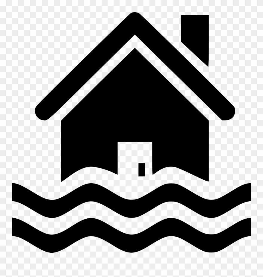 Flood clipart house florida. Cumulative home button flat