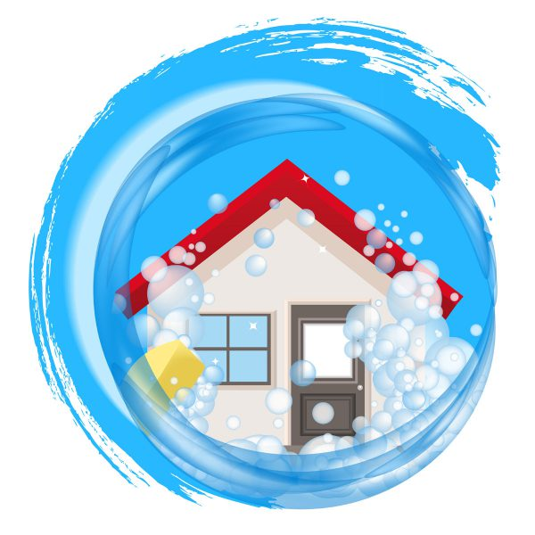 Cleaning up after a. Flood clipart hurricane