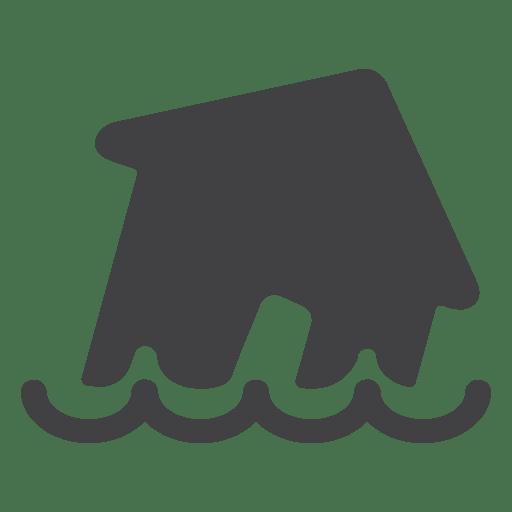 Flood clipart vector. House transparent png svg