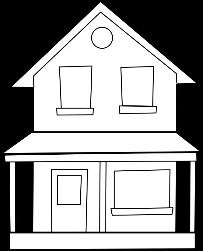 House maison medium image. Floor clipart 1st