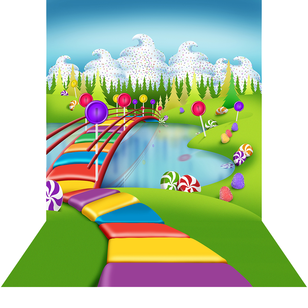 Floor clipart 2nd. Candyland with photography backdrops