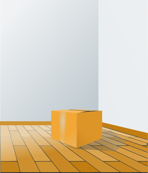 Floor clipart. Box over wood clip