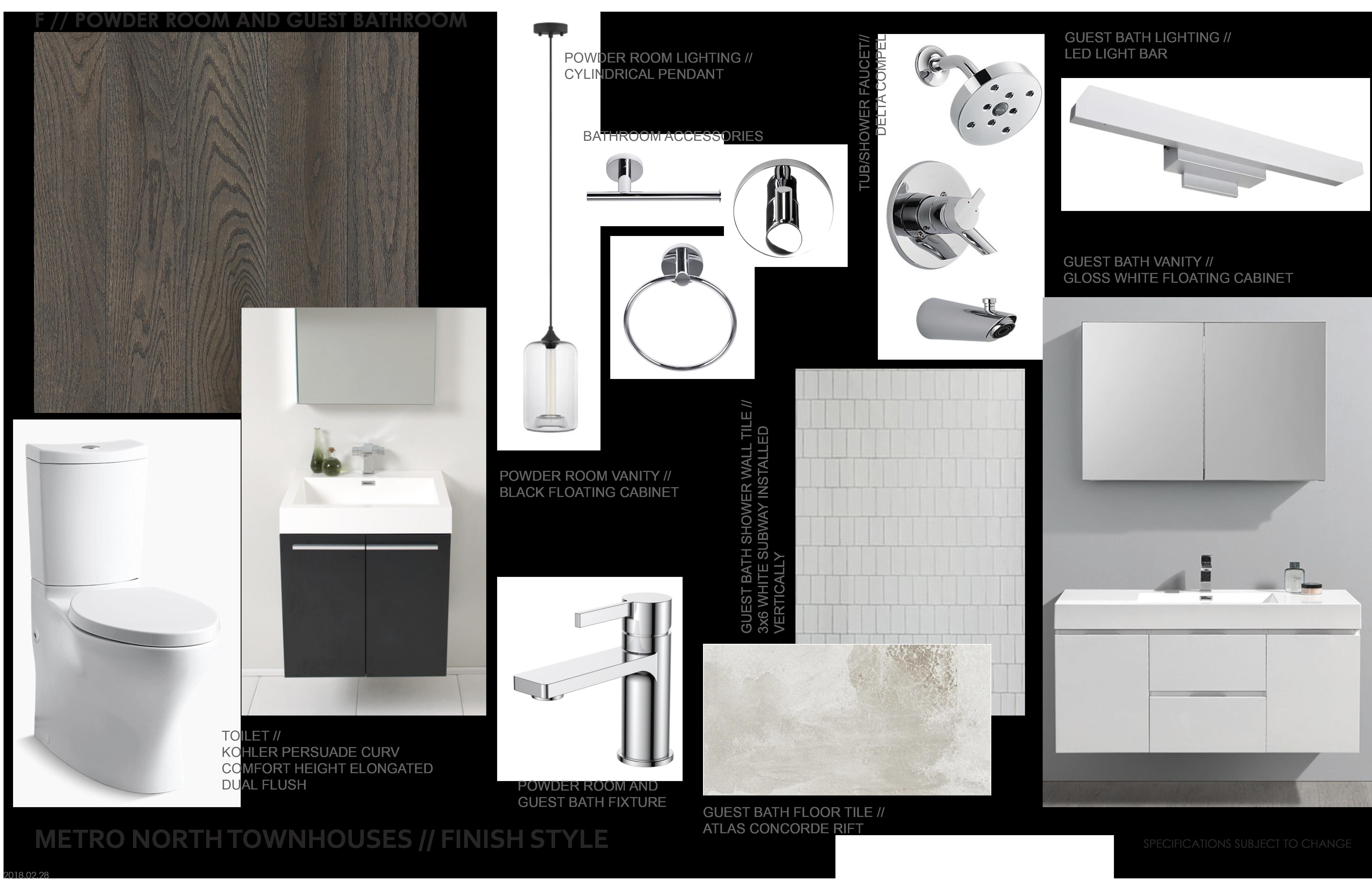 Floor clipart bathroom tile. Powder room guest fixture