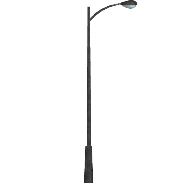 Floor black and white. Lamp clipart streetlight
