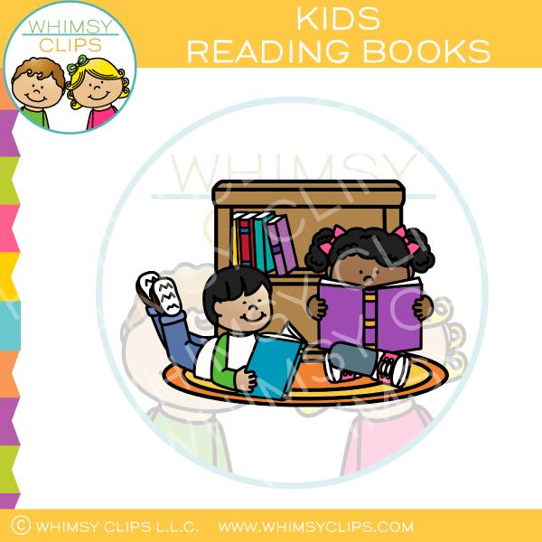 Floor clipart book share. Kids reading books on