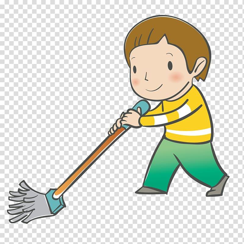 Floor clipart cartoon. Man using mop digital
