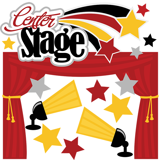 stage huge freebie. Theatre clipart live performance
