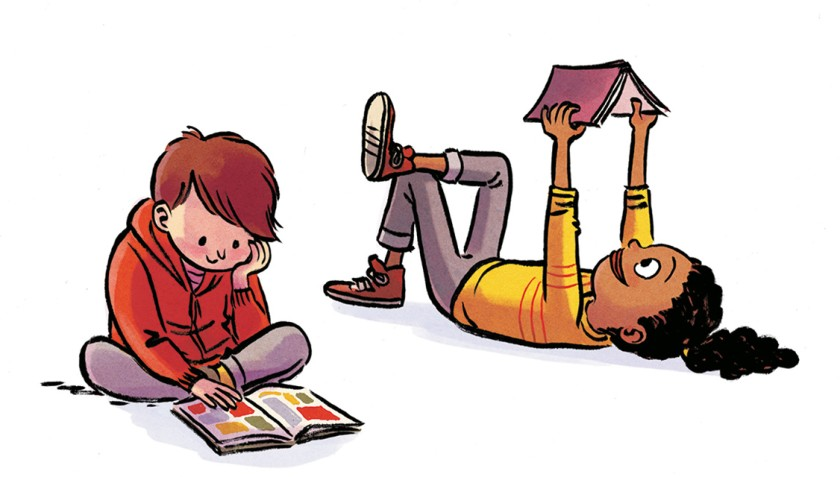 Floor clipart child read. Review two pros aim