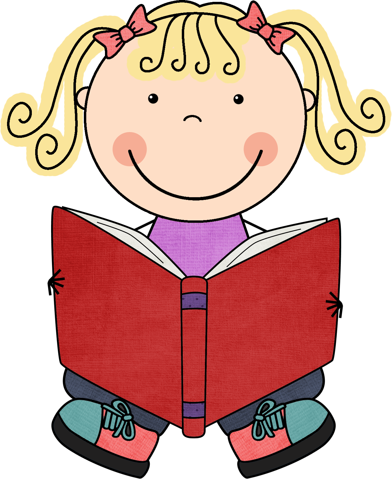 Children reading cilpart excellent. Floor clipart child read