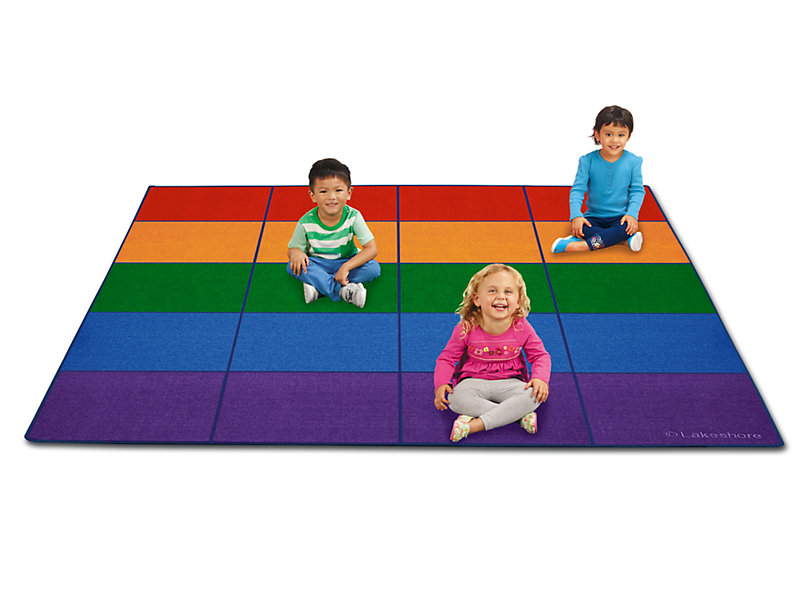 A place for everyone. Floor clipart classroom rug