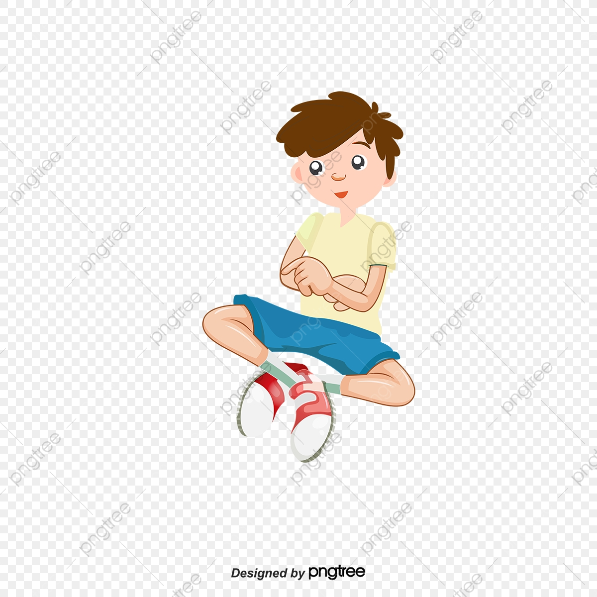 Sit on the little. Floor clipart cute