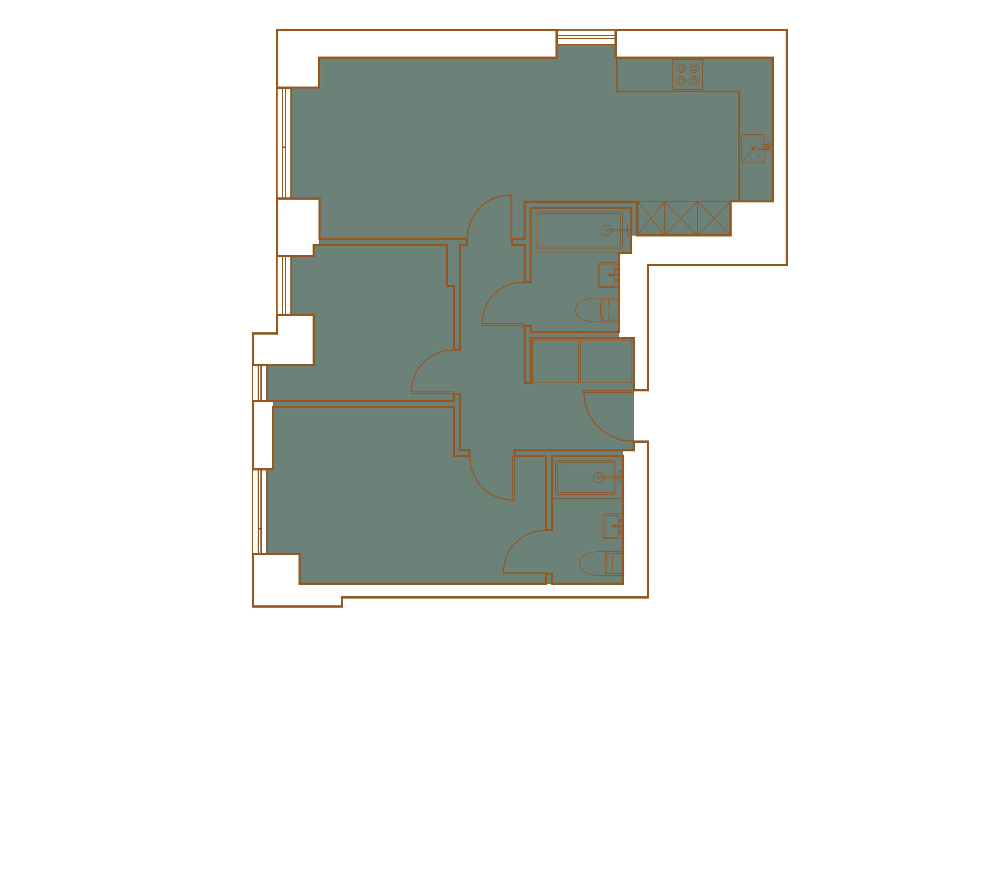 Apartment colony court luxury. Floor clipart ground floor