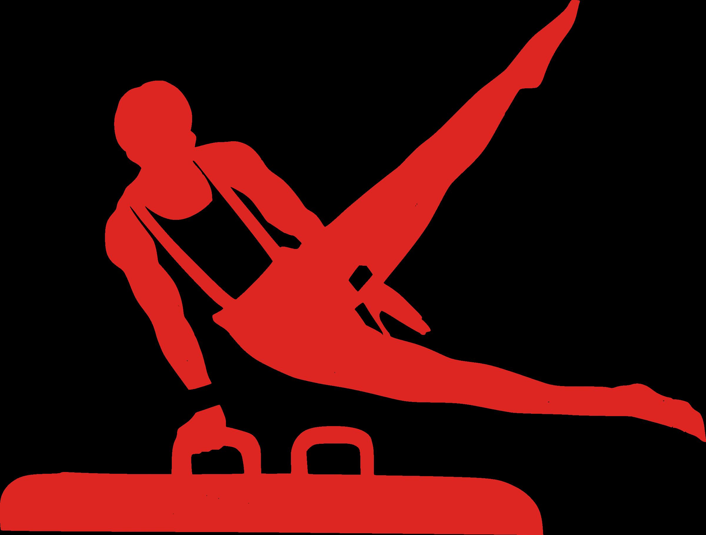 First class icon . Floor clipart gymnastics