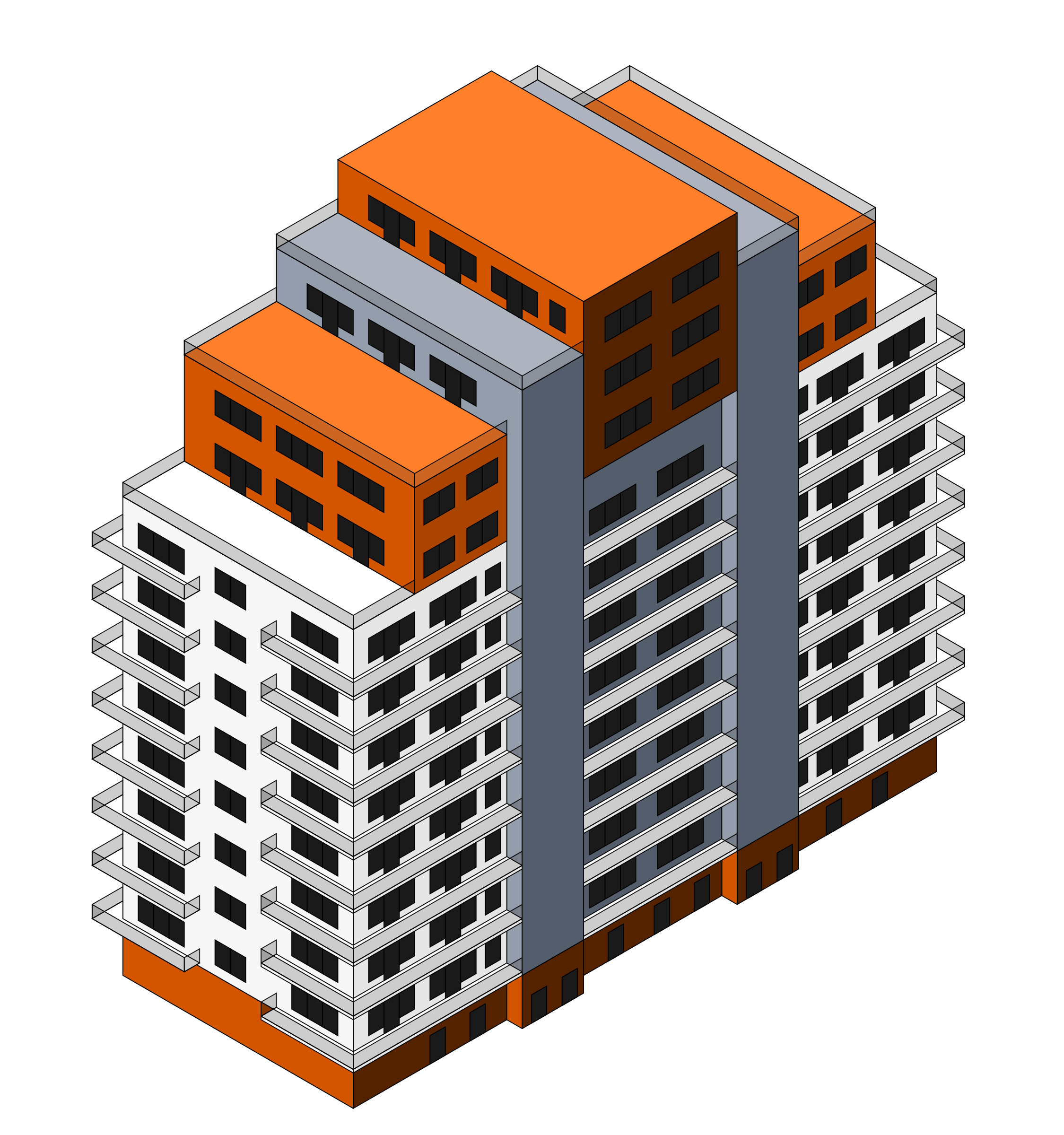 Floor clipart isometric. Building icons png free