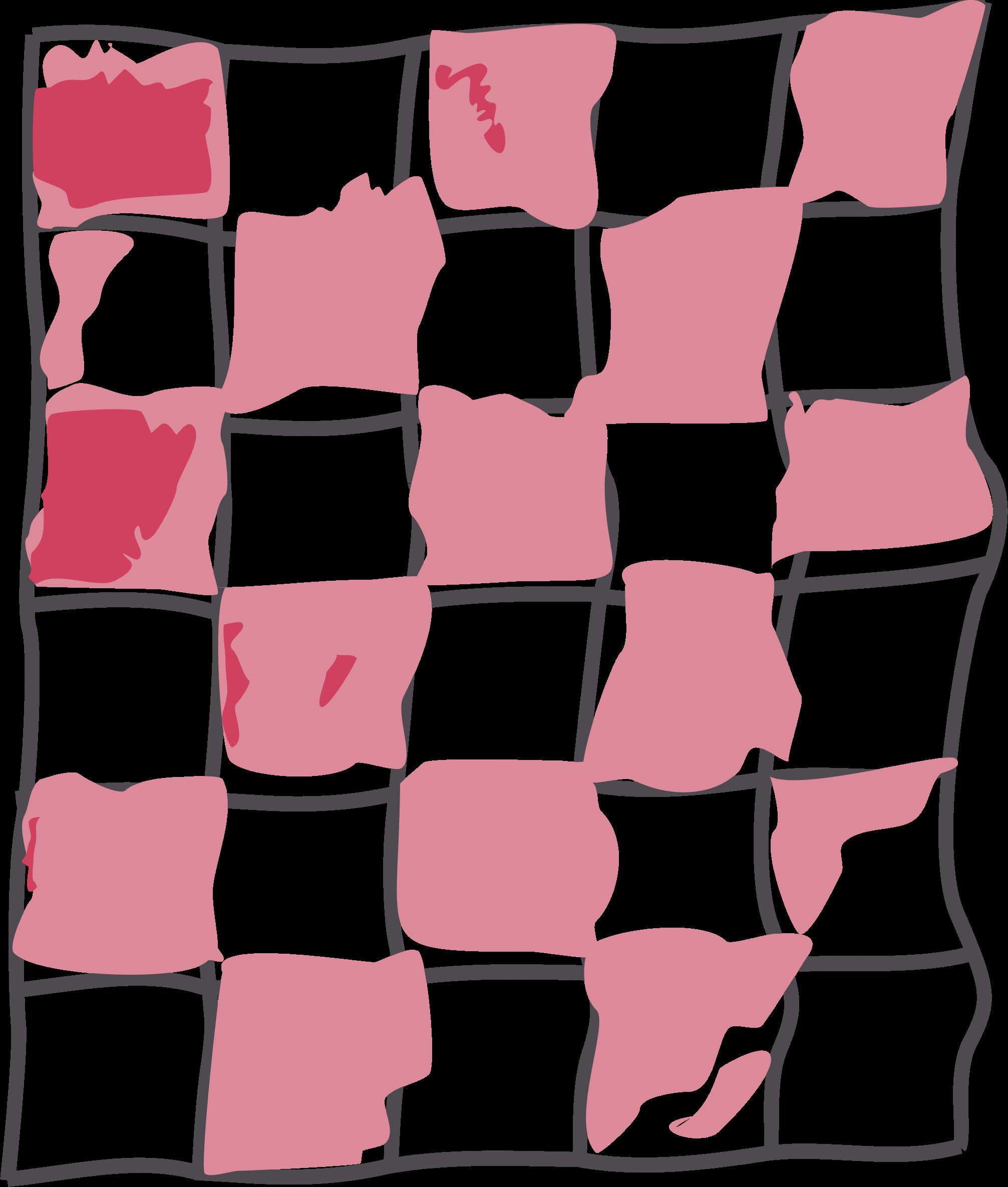 Floor clipart perspective. Wobbly checker board big