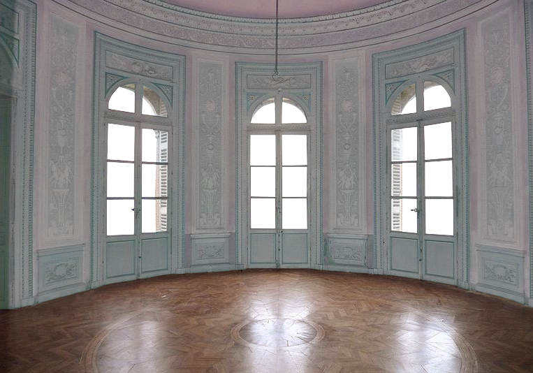 Floor clipart plain room. Empty castle pink and