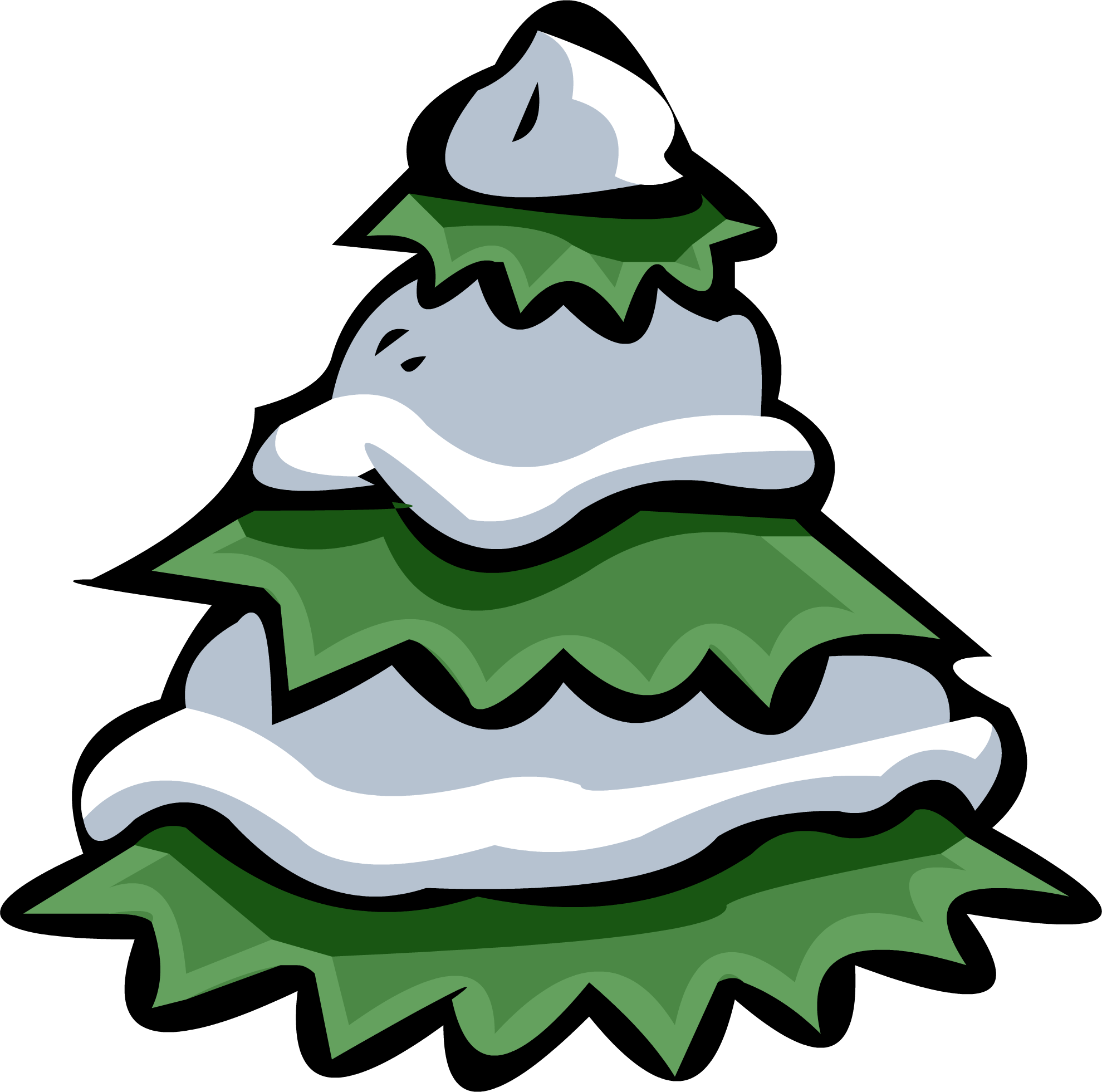 Floor clipart snowy. Image tree png club