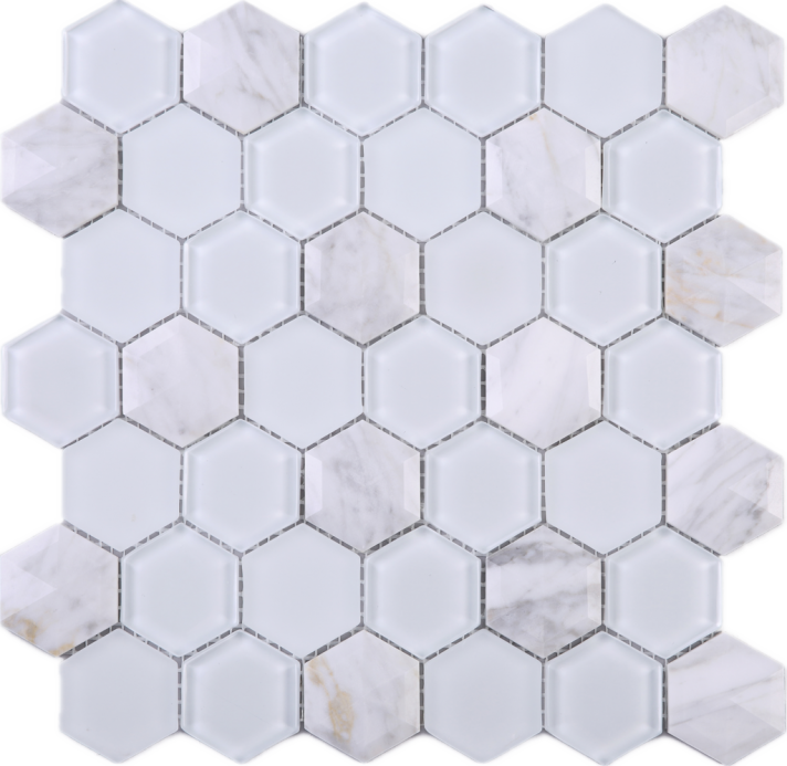Pencil and in color. Honeycomb clipart hexagon
