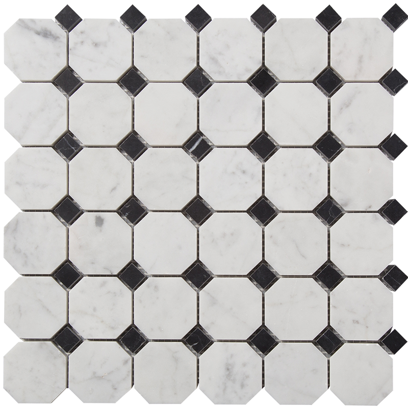 Stone mosaic centurymosaic centurymosaicoctagonmarblemosaictile. Floor clipart tile design
