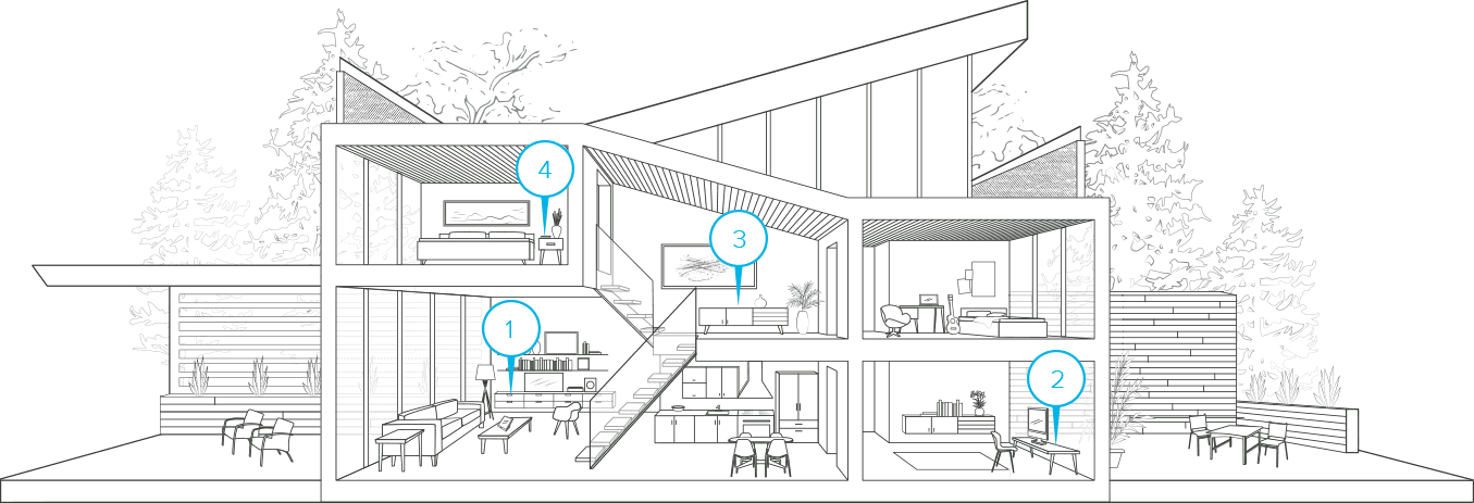 Finally wifi that works. Floor clipart two story house