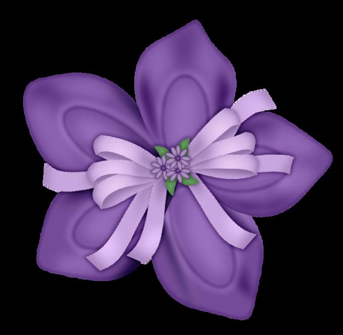png album flower. Floral clipart bow