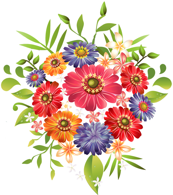 Flower image png. Bouquet of flowers picture