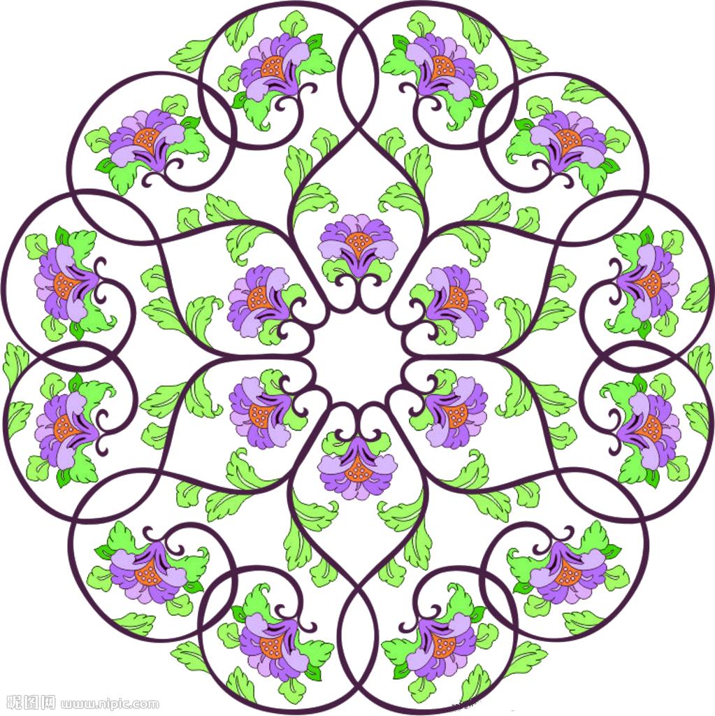 Floral clipart floral pattern. Graphic design clip art