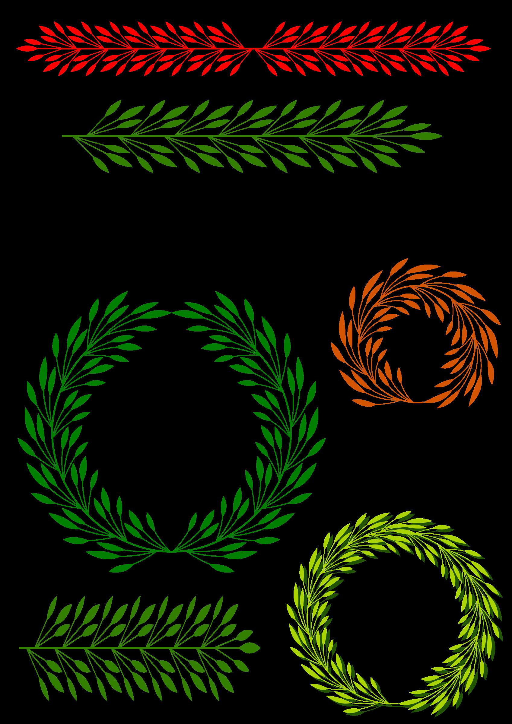 Elements big image png. Floral clipart font
