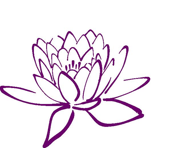 Flower clip art at. Floral clipart fuschia