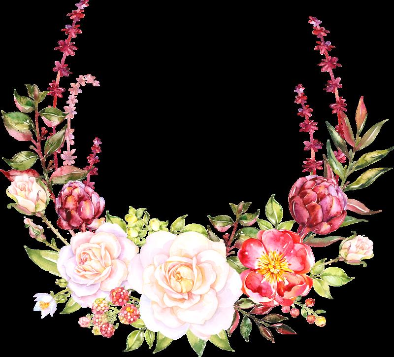 Theembrace png pinterest art. Floral clipart fuschia