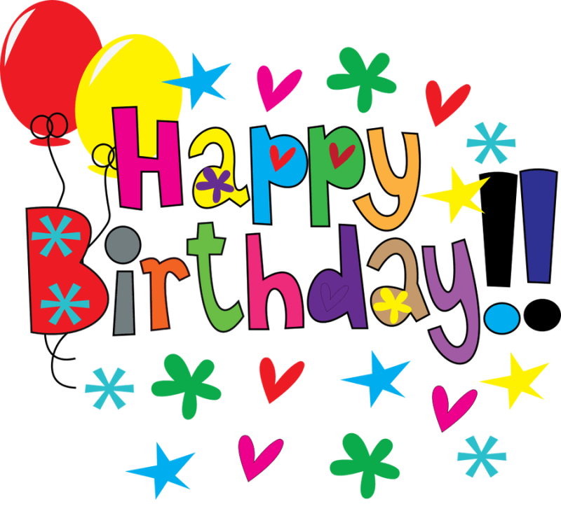 Flowers holidays . Floral clipart happy birthday