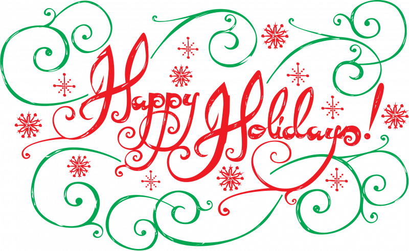 Happy ucla video with. Holidays clipart animated