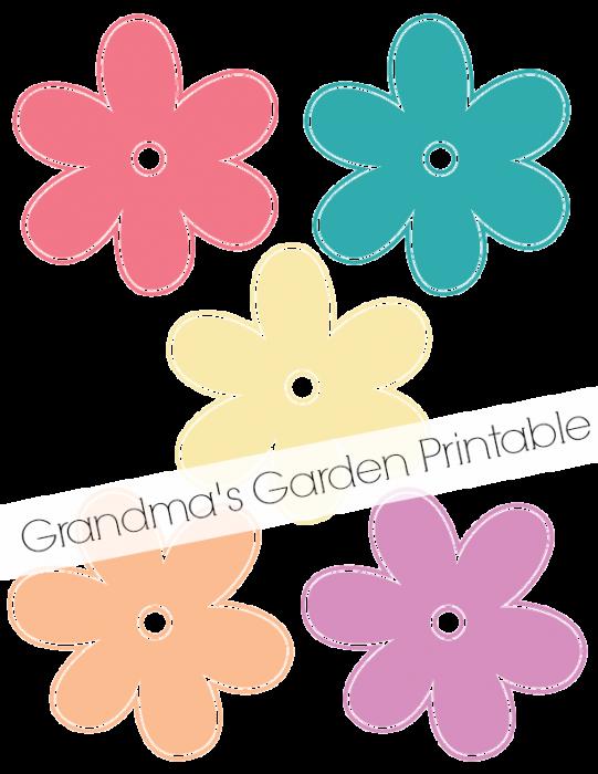 Grandma s garden paper. Floral clipart mason jar