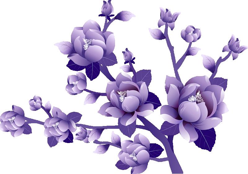 Lavender clipart clear background. Purple flower clip art