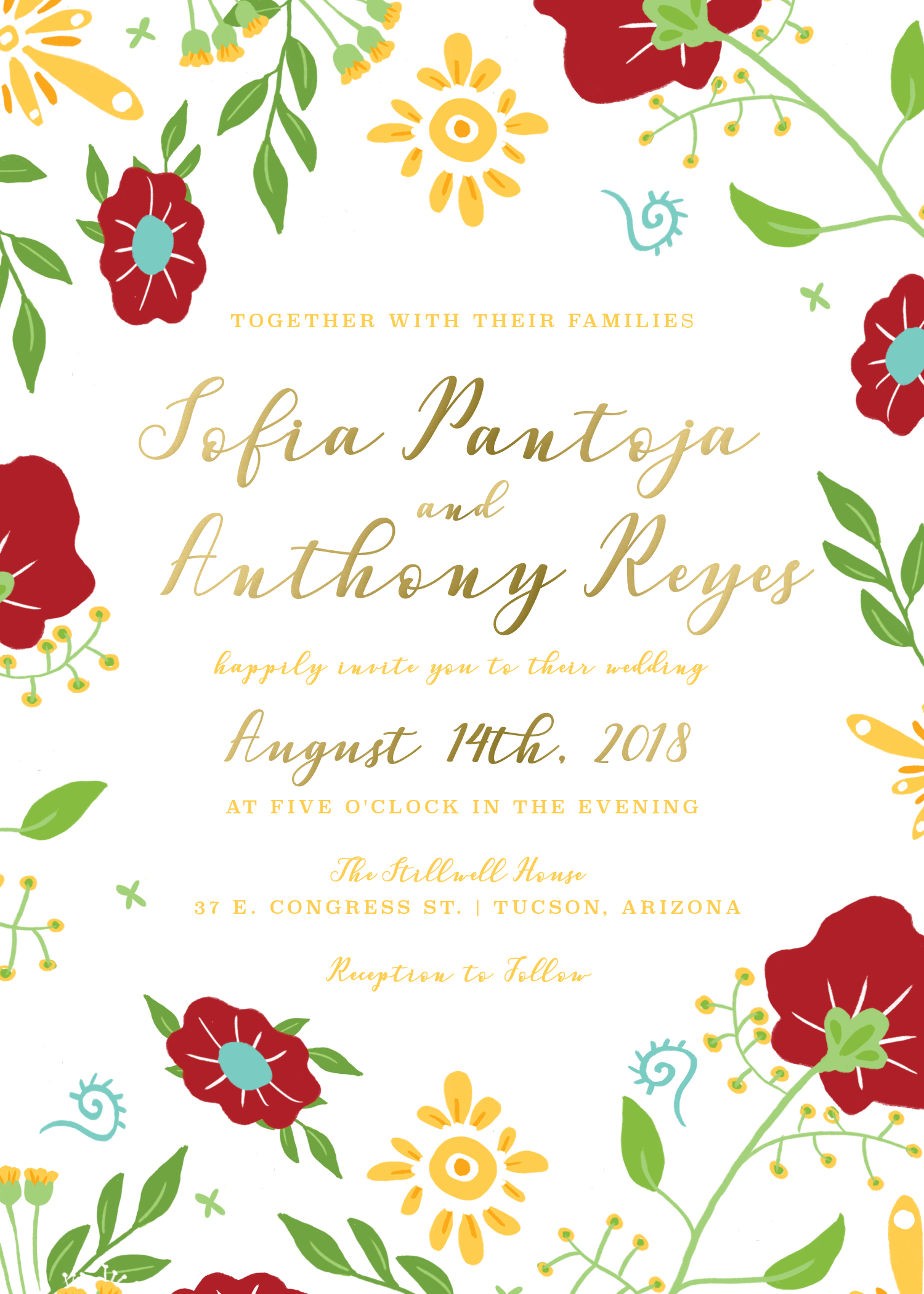 Invitation mexican