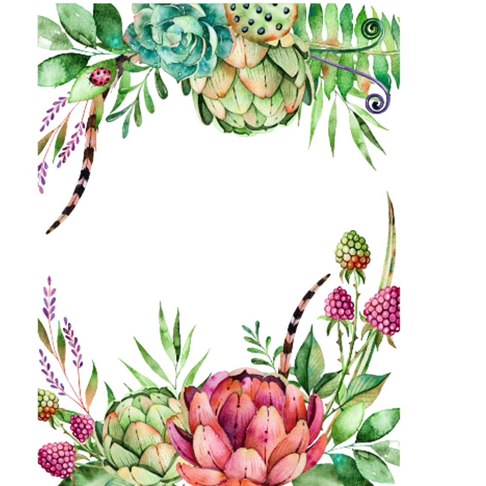 floral clipart succulent