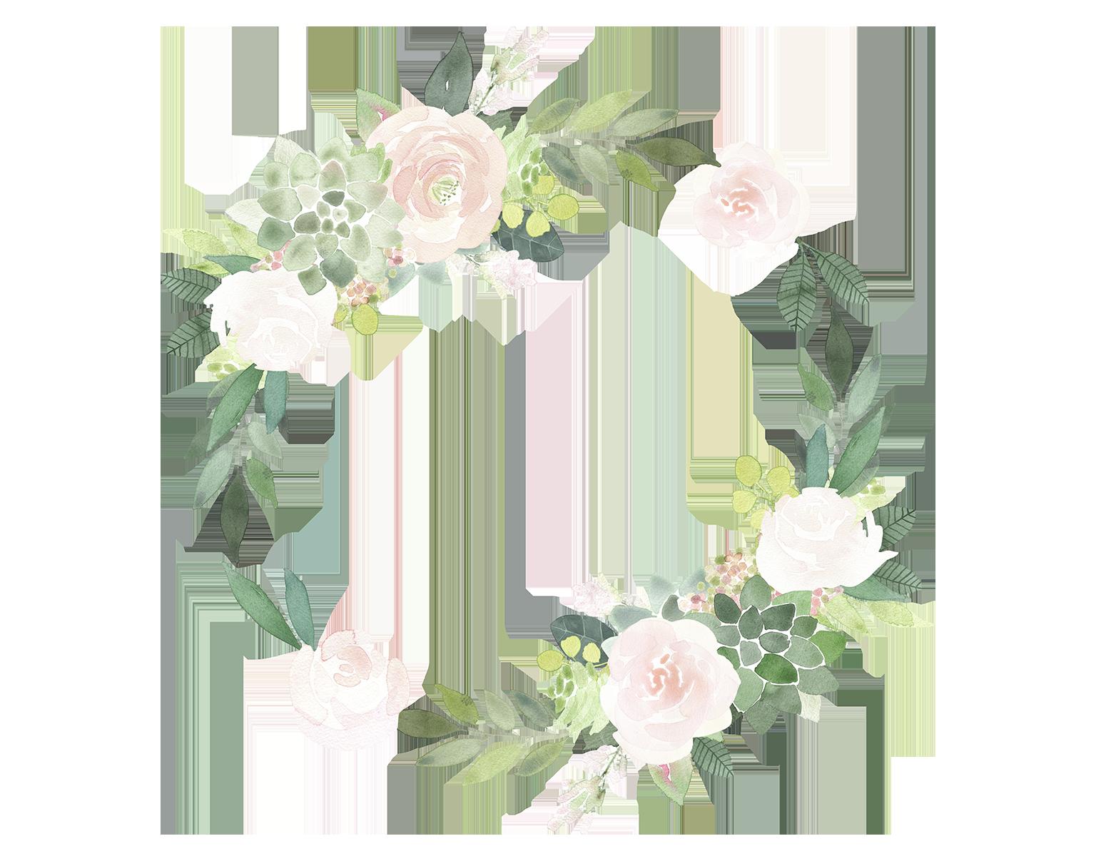 Floral clipart succulent. Baby plans ashley oberholtzer