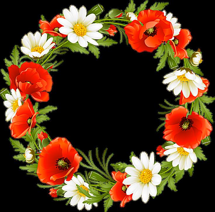 Pontiac s rebellion an. Floral clipart summer
