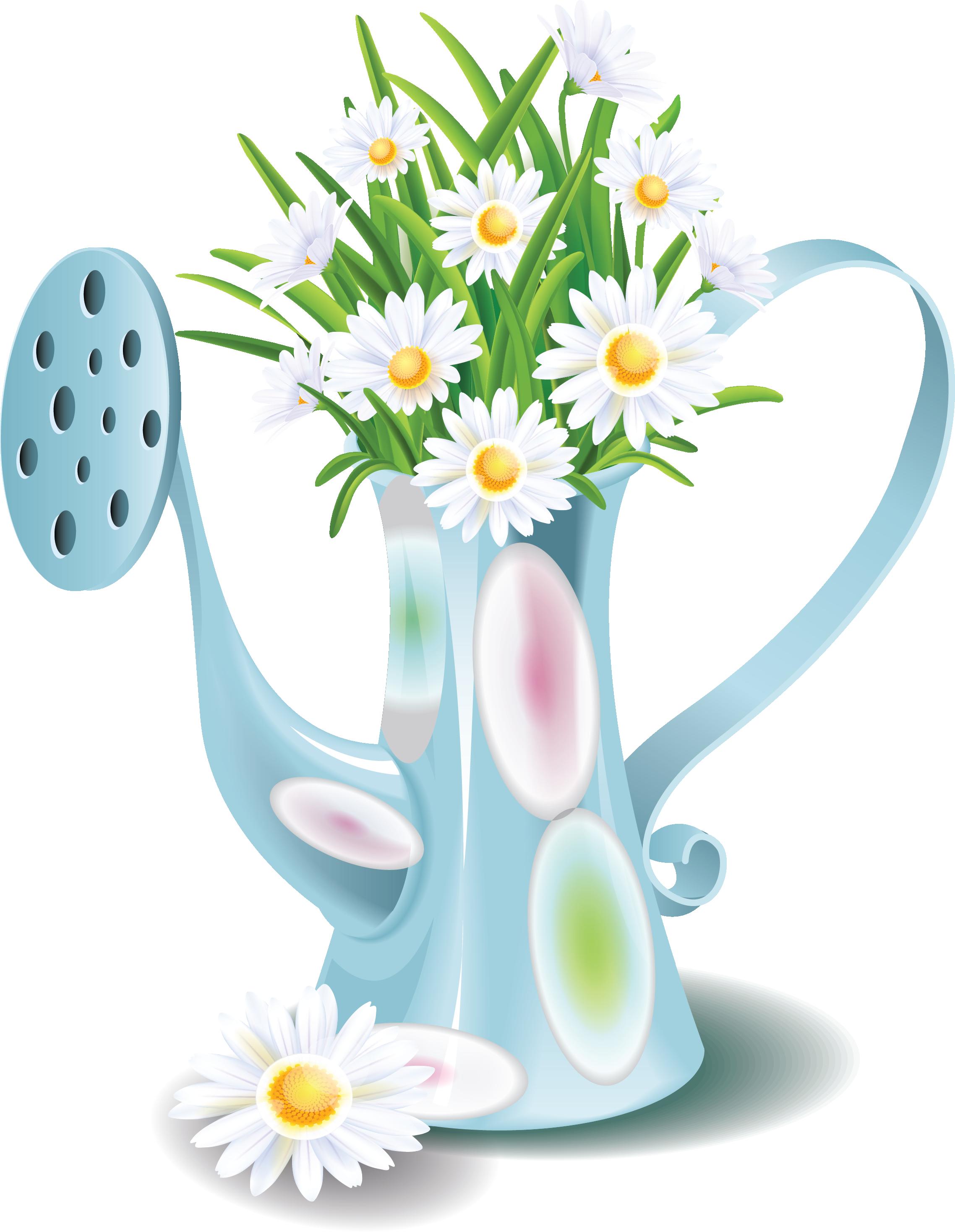 My design flowers decoupage. Floral clipart teacup