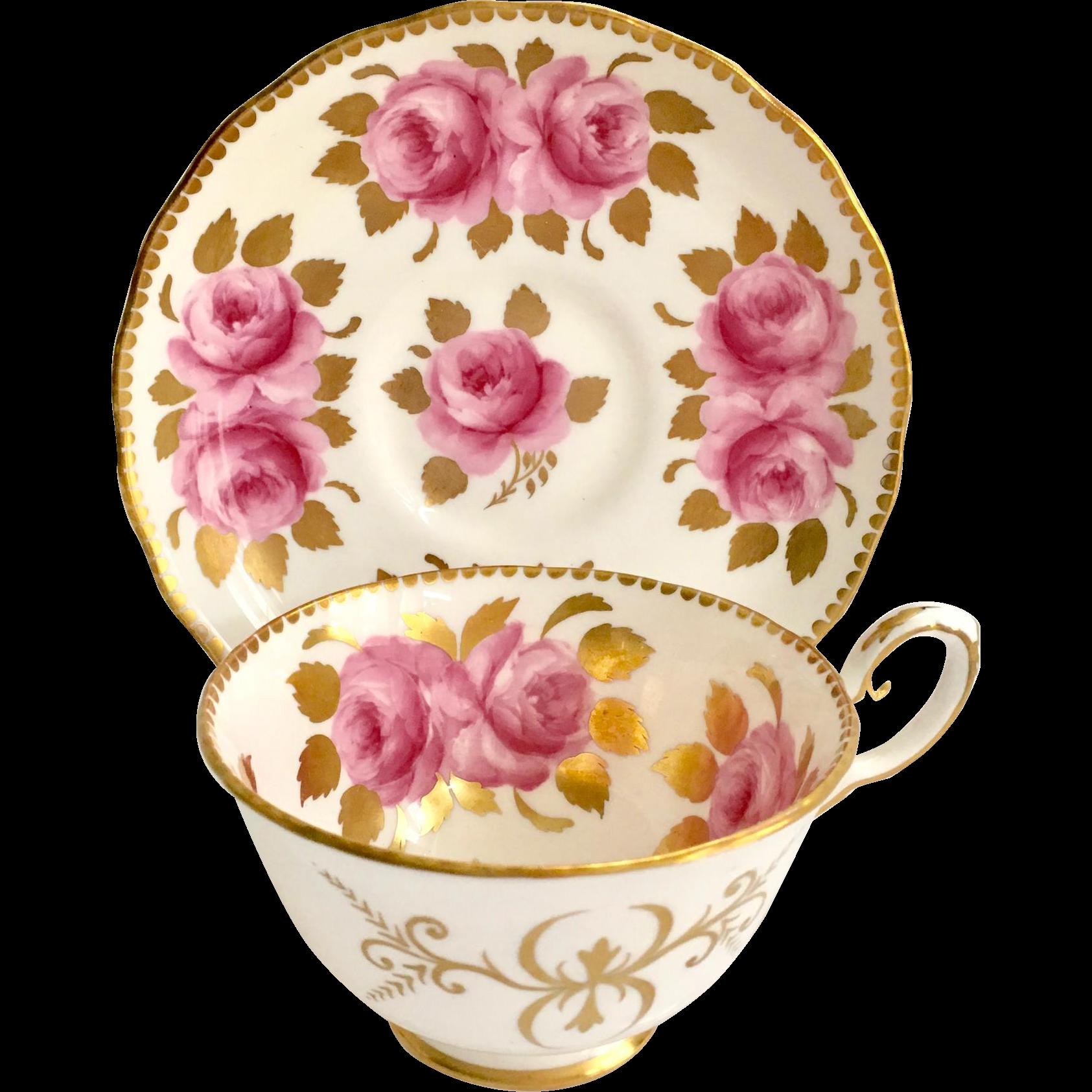 Royal chelsea bone china. Floral clipart teacup