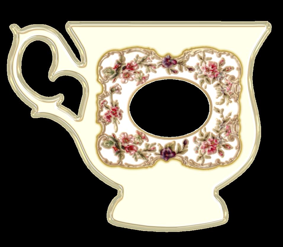 Scrapbook craft hobbies hobby. Floral clipart teacup